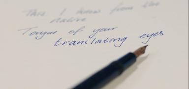 Translating eyes